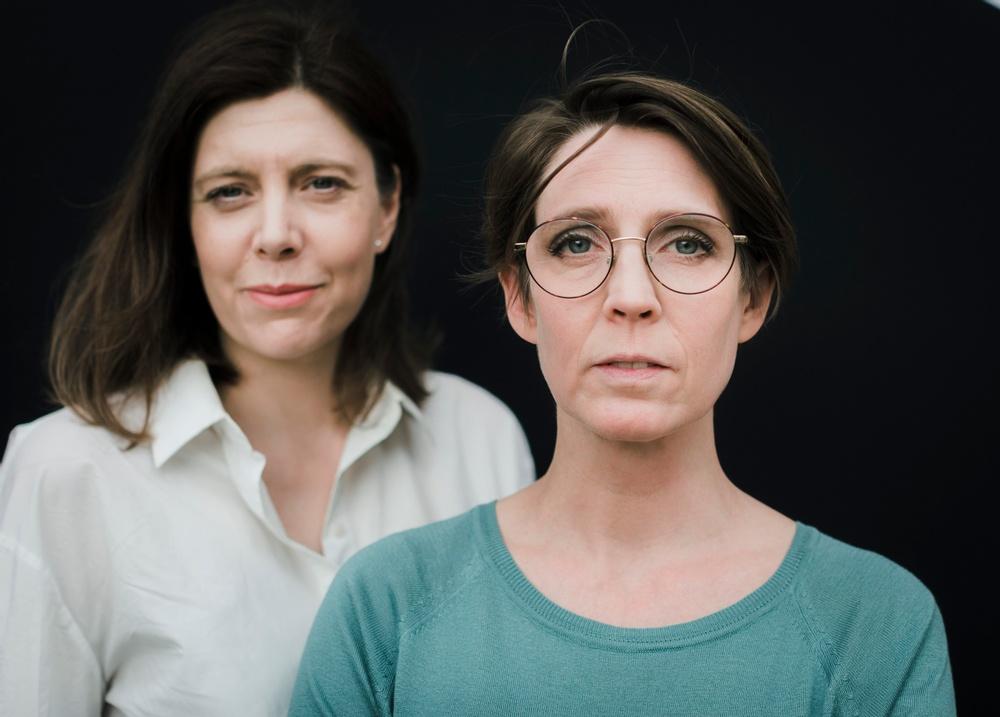 Sandra Nolgren, verksamhetsledare och Josefine Engström, ordförande Svenska Tecknare.