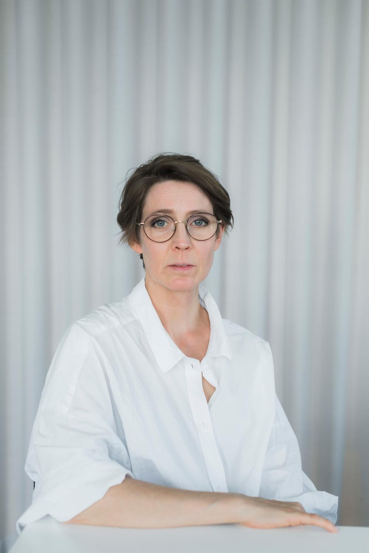 Josefine Engström, ordförande Svenska Tecknare. Foto: Anneli Nygårds.