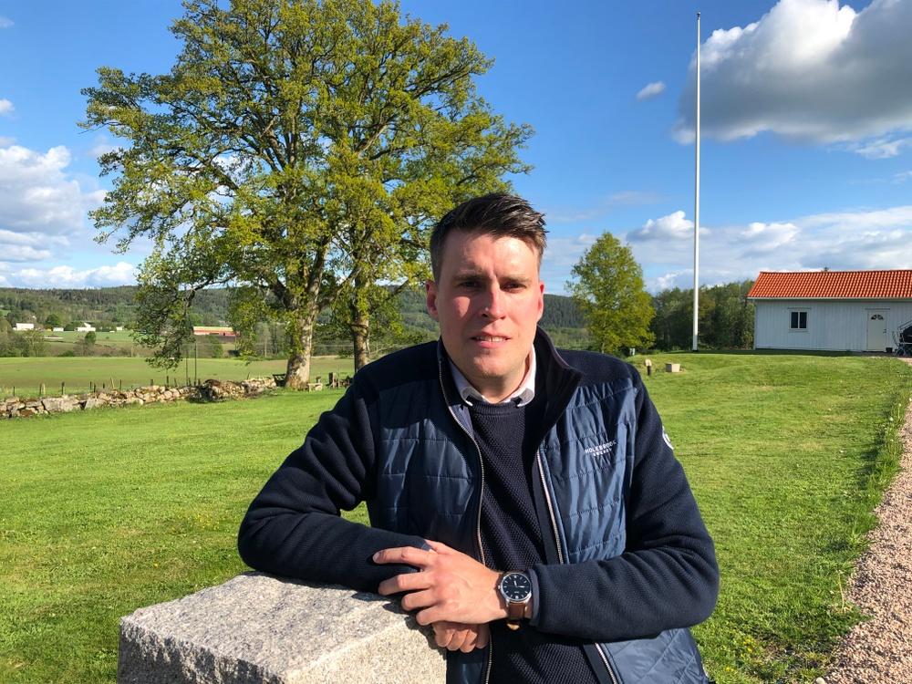 Eldsjälen Mikael Larsson från Björketorp mottar Bygdegårdarnas Riksförbunds högsta utmärkelse 2020. Foto: Privat