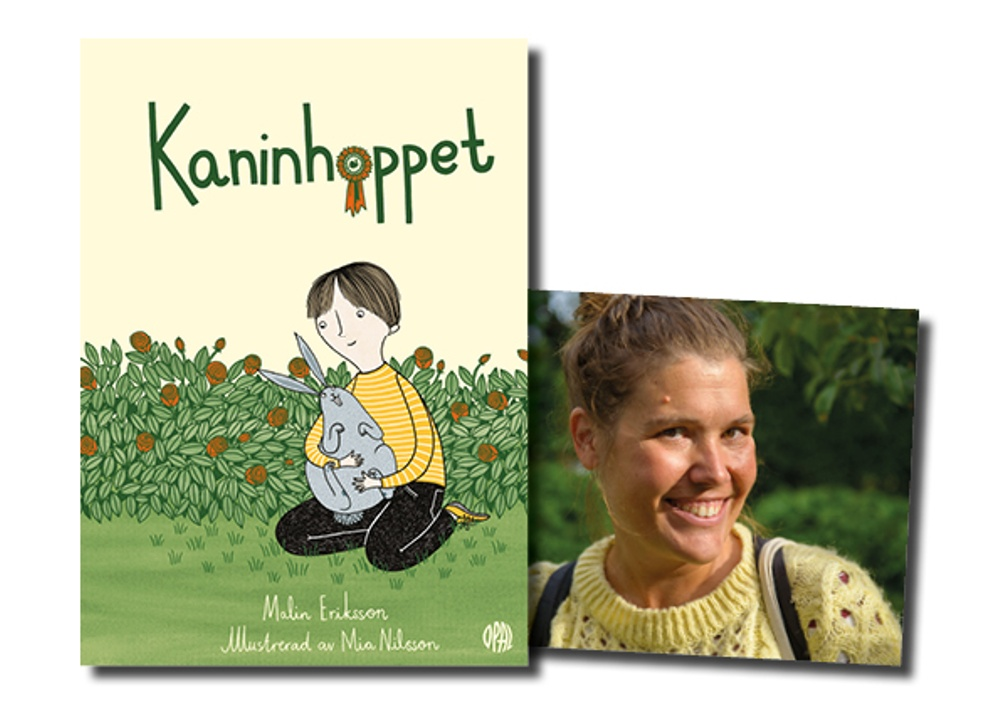 Omslag av: Mia Nilsson Porträtt av: Danne Eriksson