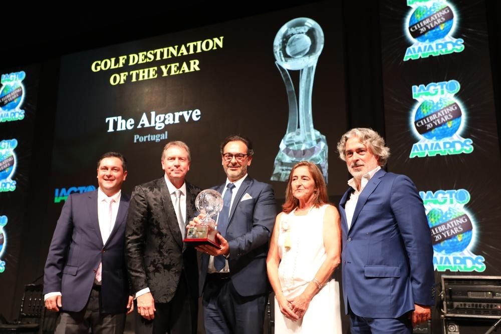 Algarve årets golf destination