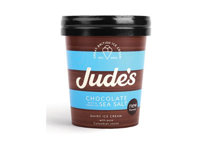 Jude's Chocolate & Sea Salt Ice Cream