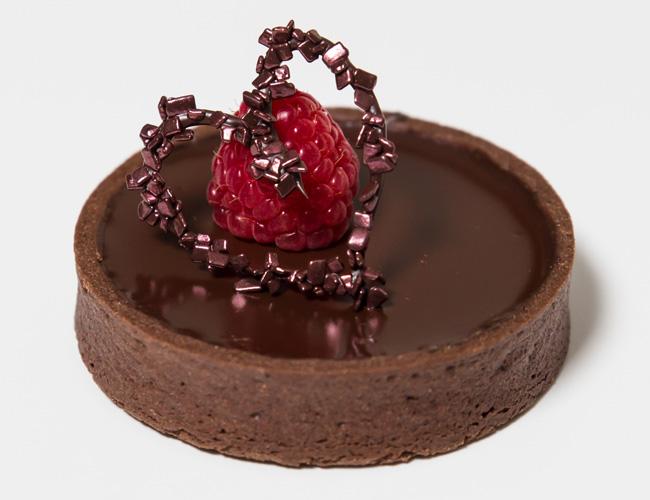 Callebaut chocolate tart
