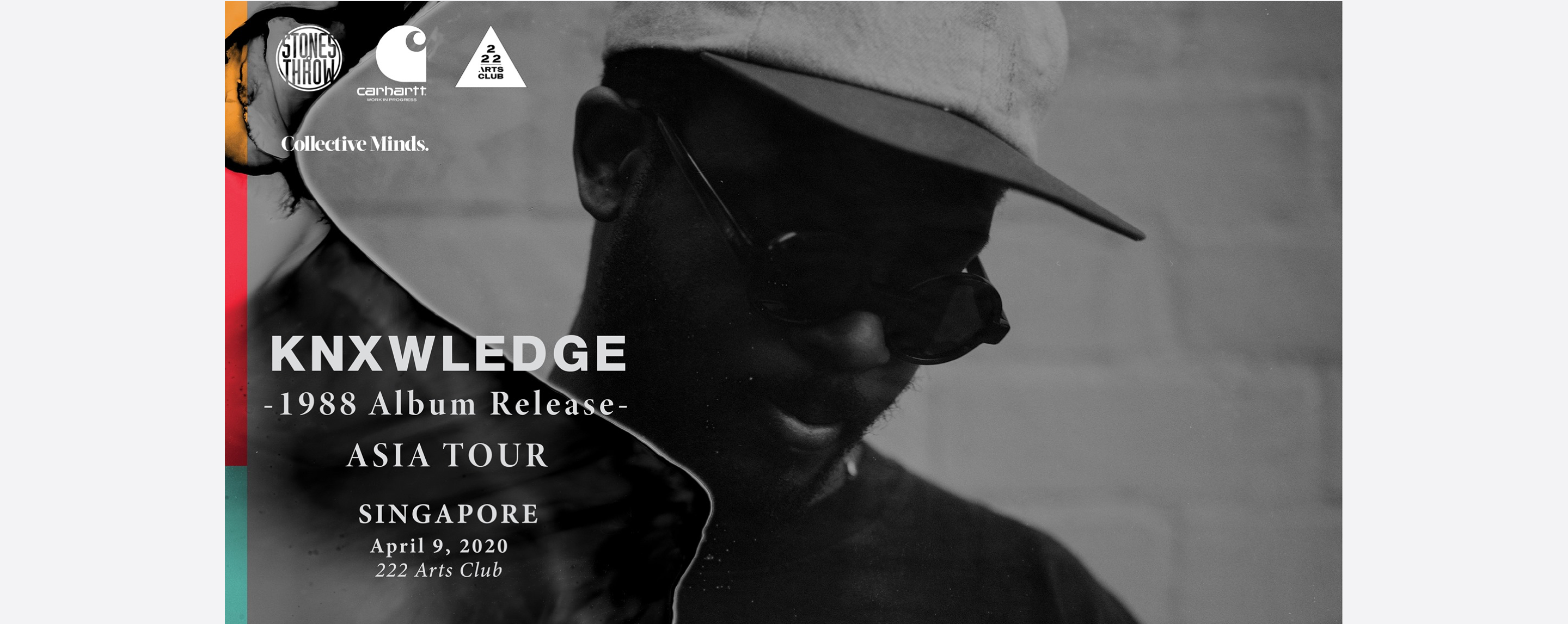 Knxwledge (US) presented by Collective Minds