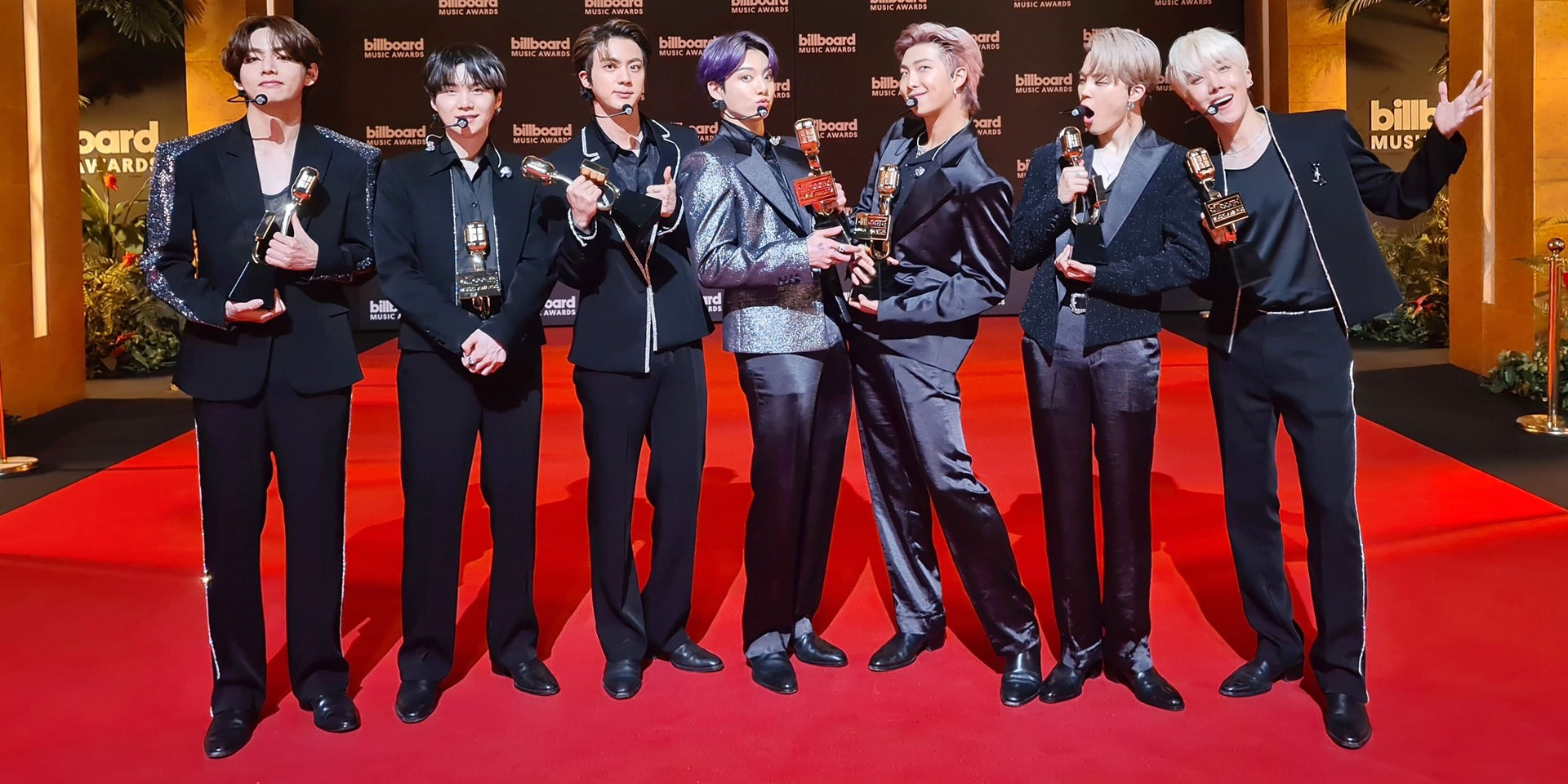 BTS win four Billboard Music Awards – Top Duo/Group, Top Song Sales, Top Social Artist, and Top Selling Song for 'Dynamite'