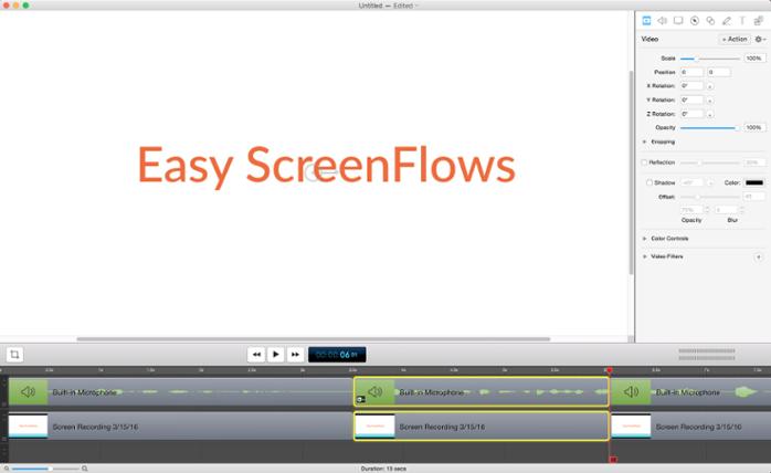 Video editing 7