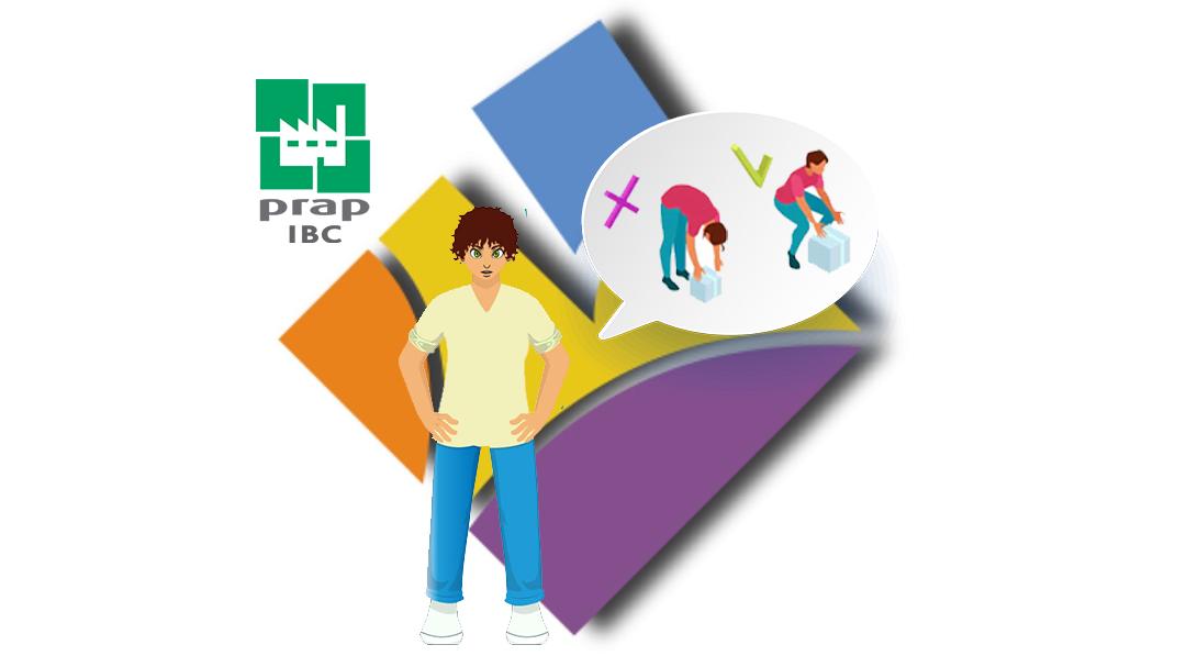 Représentation de la formation : PRAP prévention des risques liés à l'activité physique