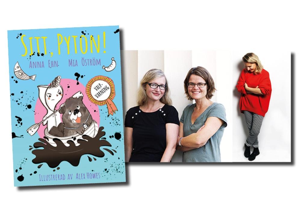Omslag: Alex Howes, Porträtt (till vänster): Jeanette Hägglund, Porträtt (till höger): Privat