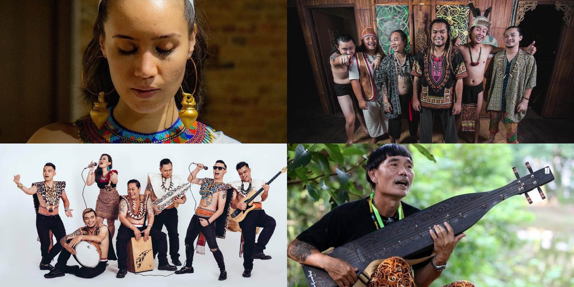 Alena Murang, At Adau, Nading Rhapsody, Mathew Ngau and more to perform at virtual Rainforest World Music Festival 2021