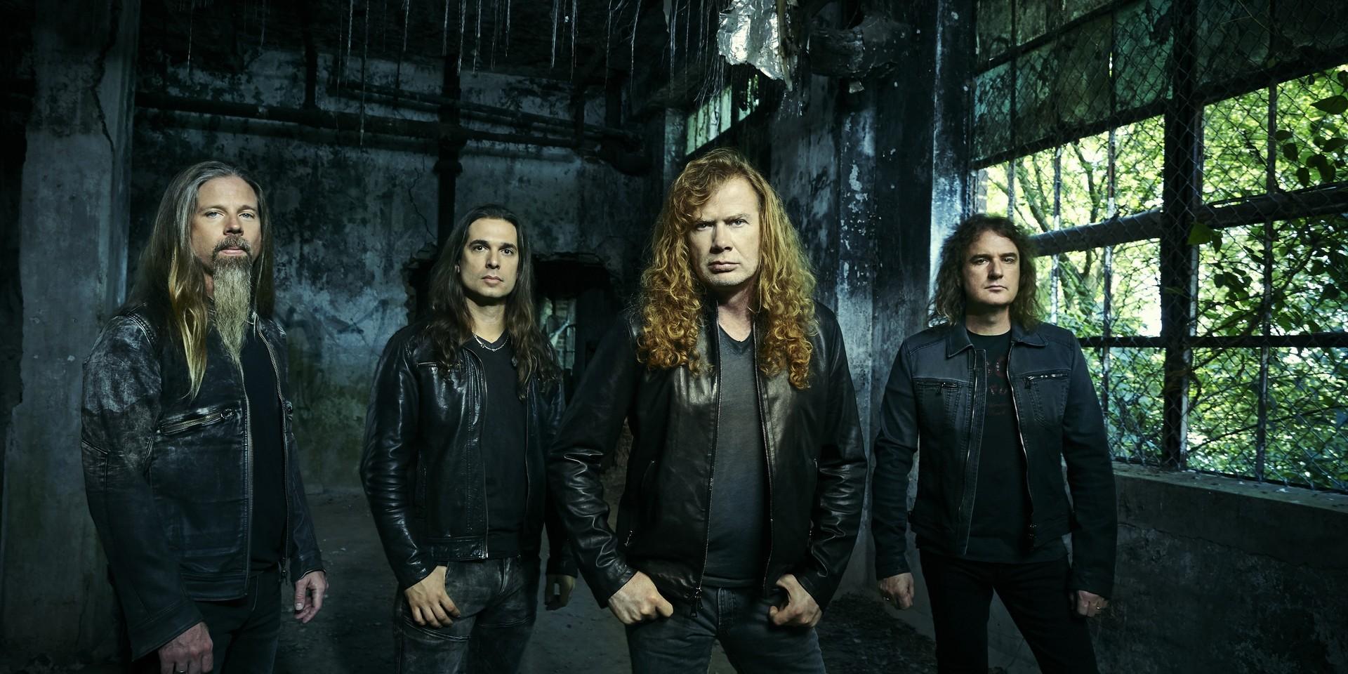 Megadeth is in the studio recording their next album