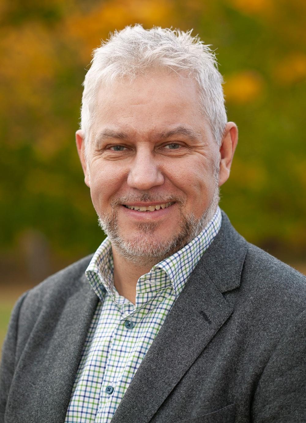 Ulrik Abelson, fastighetskonsult på Skogssällskapet. Foto: Jonny Flink