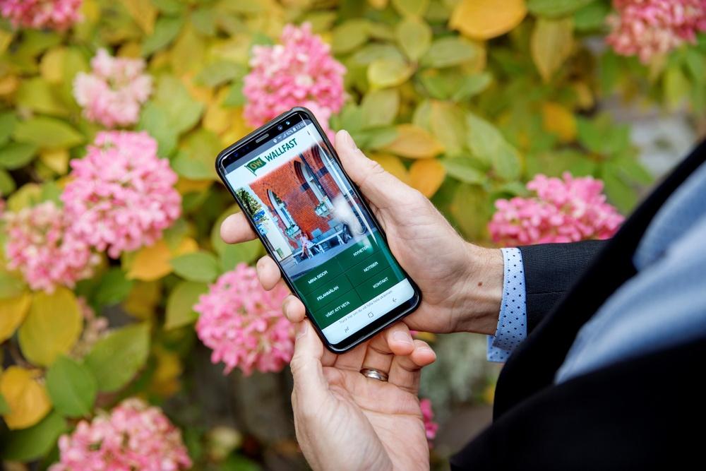 Wallfasts app för hyresgäster