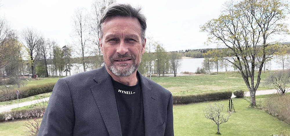 Peter Kylin, tidigare vd för Hynell Intellectual Property.