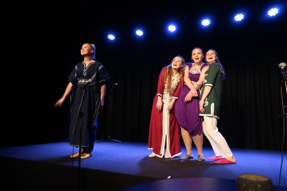 Story Squad i Aladdin, på Berättarfestivalen 2019.