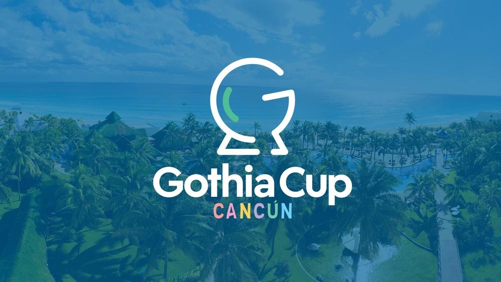 Den första upplagan av Gothia Cup Cancún spelas 4-9 januari 2022.