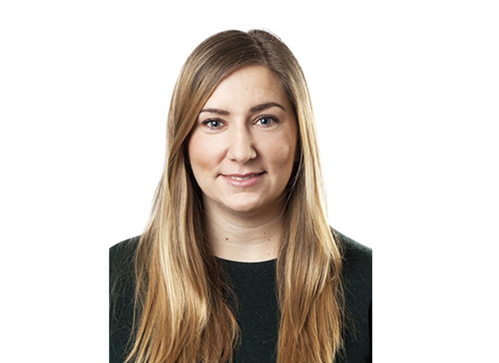 Stina Viktorsson, hållbarhetsstrateg på Ikano Bostad.