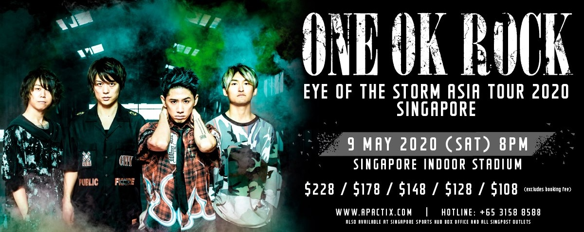 [POSTPONED] ONE OK ROCK Eye Of The Storm Asia Tour 2020